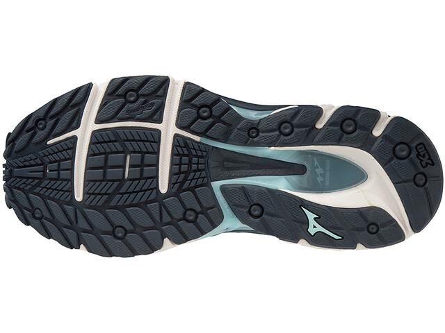 Mizuno Wave Paradox 5 Chaussures de running Femme, medieval blue/blue glow/dress blues